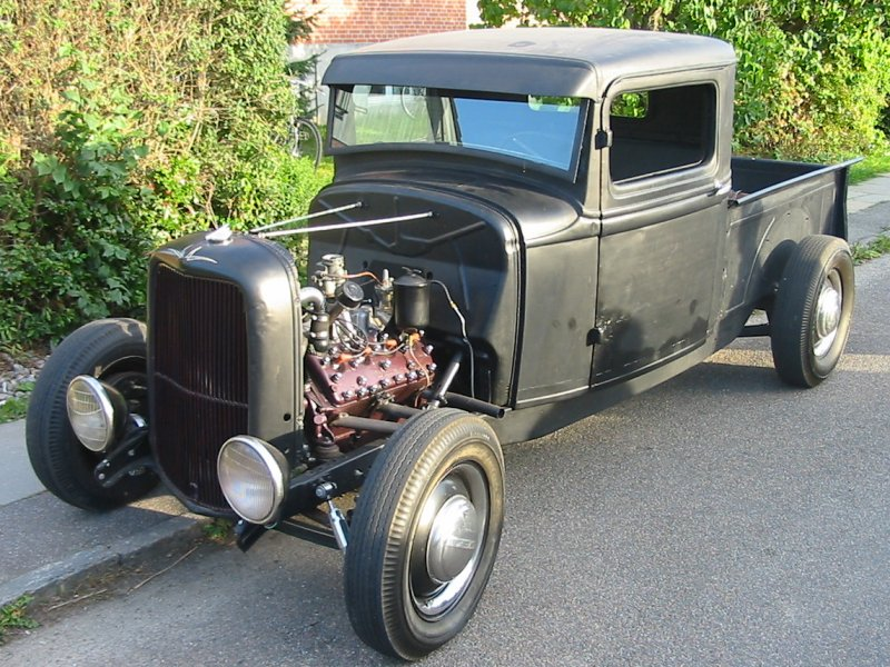 Way Cool 1934 Ford Pickup Hotrod!